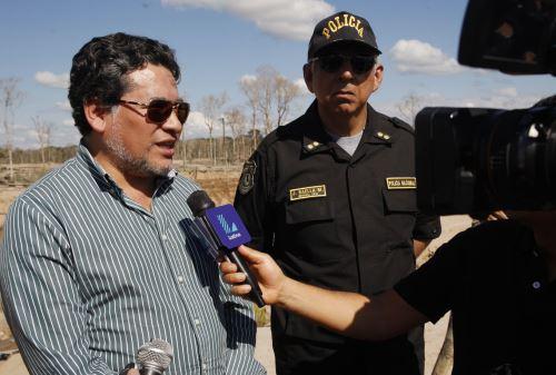 Viceministro de Orden Interno, Rubén Vargas, dio detalles de intervención policial.