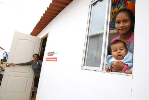 Las casas definitivas beneficiarán a los damnificados por El Niño costero.