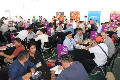 La rueda de negocios concretó importantes acuerdos entre productores e inversionistas.