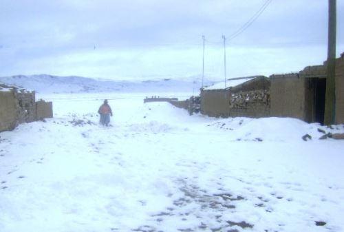 heladas en región Tacna