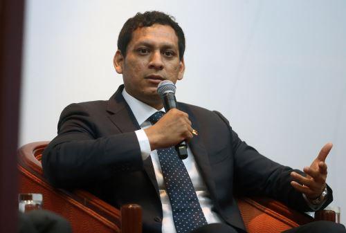Gobernador regional de La Libertad, Luis Valdez.