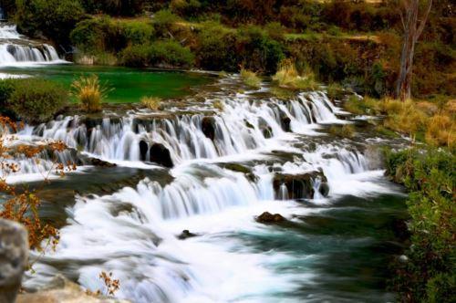 En Huancaya, Yauyos, existen importantes fuentes de agua.