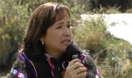 Ministra del Ambiente, Elsa Galarza, destacó importancia del agua.