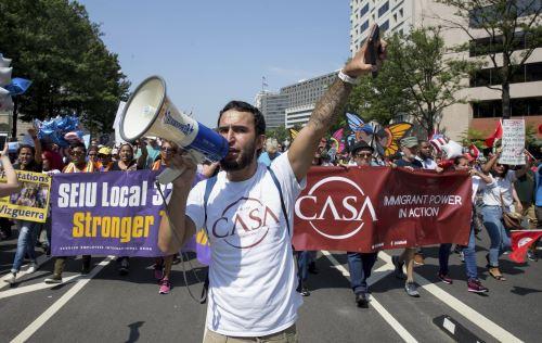 Protestas contra eliminación del DACA