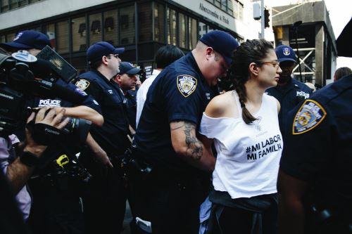 Protestas por eliminación del DACA
