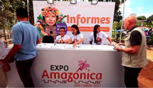 Cerca de 69,000 personas concurrieron a las dos sedes de Expo Amazónica.