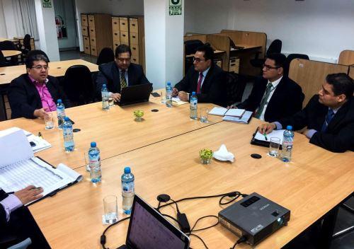 Nelson Shack se reunió con contralores regionales de Piura, Tumbes y Lambayeque.