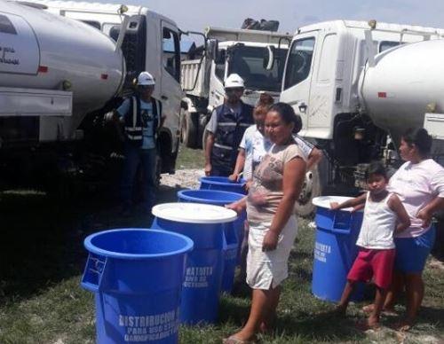 agua potable para damnificados por incendio en Iquitos