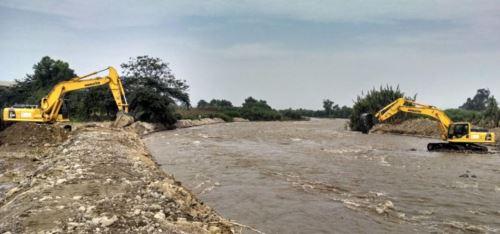 Se realizarán trabajos de descolmatación y prevención en ríos Piura y Chira.