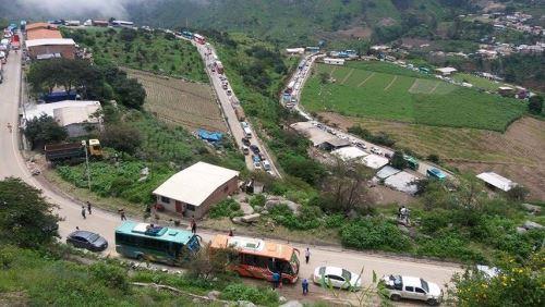 Carretera permitirá a pobladores de Bolívar acceder a servicios básicos.