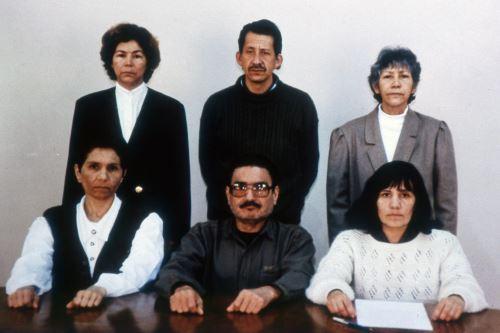 Abimael Guzmán, Elena Iparraguirre, y la cúpula de Sendero Luminoso