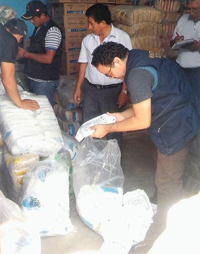 Autoridades intervinieron otros establecimientos comerciales de Bagua.