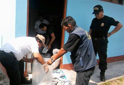 Fiscalía incautó productos vencidos a establecimientos comerciales de Imaza.