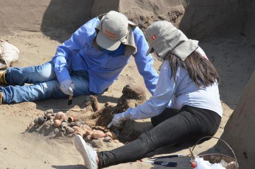Se iniciaron los trabajos en huaca Los Gavilanes, dentro del complejo arqueológico Túcume