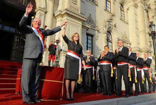 Gabinete Ministerial juramentó en Palacio de Gobierno