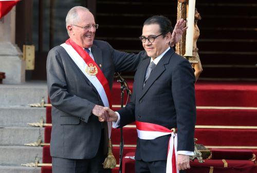 Enrique Mendoza, ministro de Justicia y Derechos Humanos