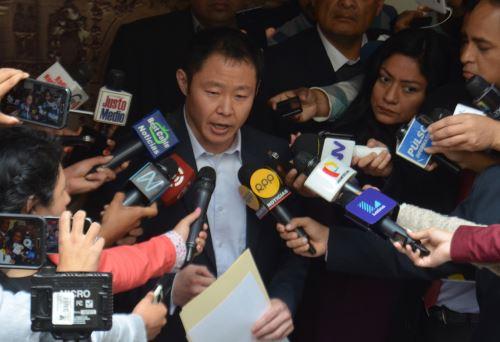 Sigue el proceso disciplinario contra el congresista Kenji Fujimori