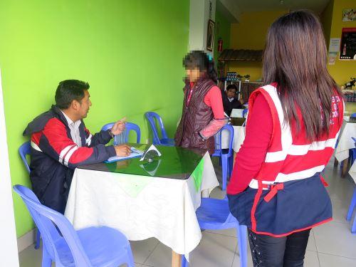 La adolescente trabajaba en un restaurante de Cajamarca.
