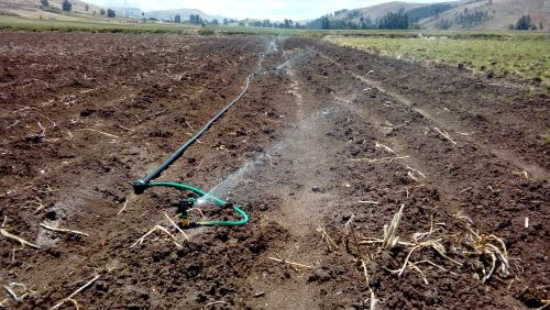 Japón contribuyó con recursos en construcción de sistema de riego.
