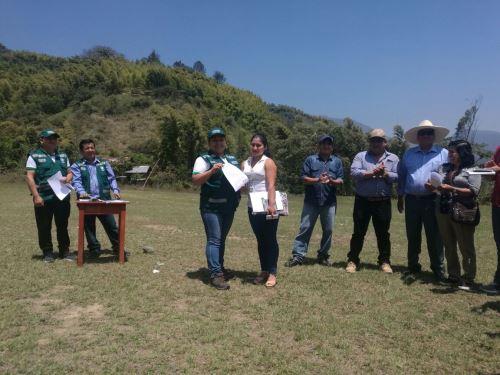 Serfor brindará asesoramiento técnico a productores de Cajamarca.