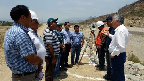 Autoridades de Lambayeque coordinaron con Junta de Usuarios del Valle de Olmos.