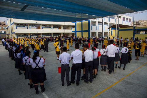 Visita fue organizada por la Primera Fiscalía Provincial de Prevención del Delito de Trujillo.