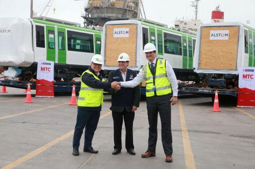 Resultado de imagen para Metro De Lima: A Fines De Noviembre Se Pondrá En Funcionamiento Nuevo Tren