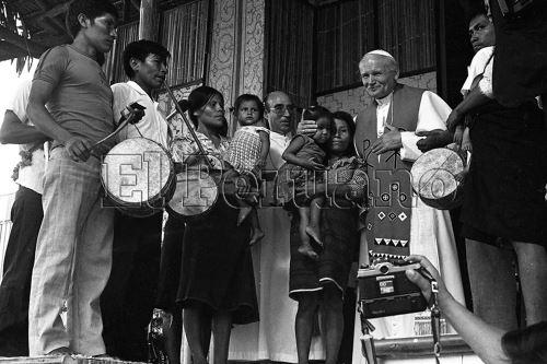 Juan Pablo II visitó Perú en dos oportunidades