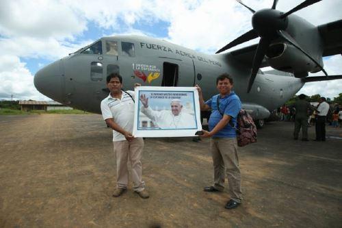 Tres Mirage 2000 resguardaron avión que trajo a Francisco a Perú