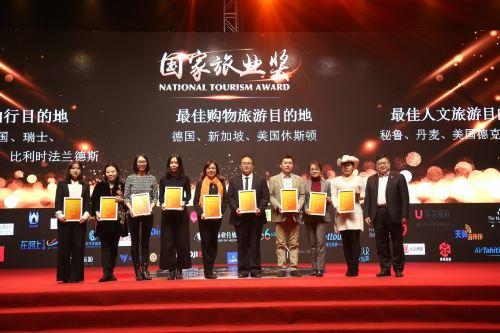 Perú gana premio en China