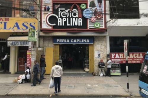 Comercio en Tacna