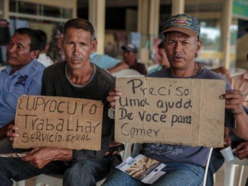 Inmigrantes venezolanos en Brasil