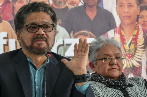 Iván Márquez e Imelda Daza