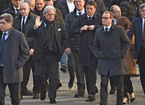 Ex primer ministro Matteo Renzi