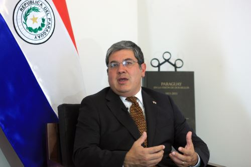 Embajador de Patraguay, Julio Duarte