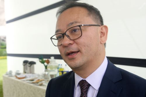 Jefe de la Sunat, Víctor Shiguiyama