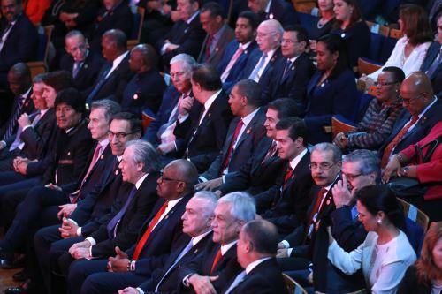 Jefes de Estado y de Gobierno de 17 países asisten a VIII Cumbre de las Américas