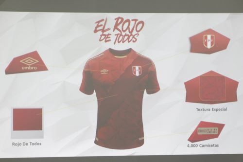 Peru unveils new fan jersey for World Cup 2018  cefeadcd8