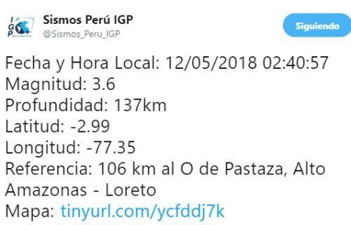 Descartan alerta de Tsunami tras fuerte sismo de 5.5 grados en Lima