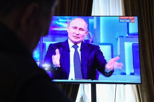 Putin en TV rusa