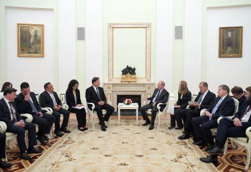Presidente de Panamá se reunió con Putin