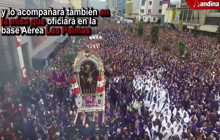 Papa Francisco: visita a Iglesia Las Nazarenas podrá ser vista por pantallas gigantes