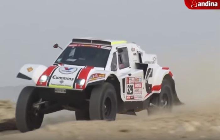 Dakar 2018: Imágenes de la segunda etapa