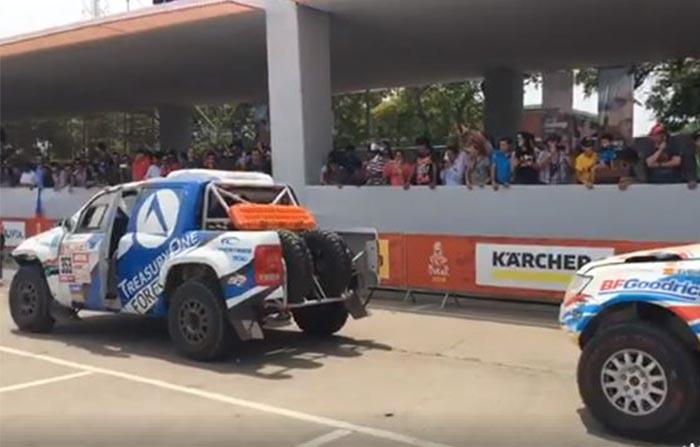 Arranca el Rally Dakar 2018 desde el Pentagonito de San Borja