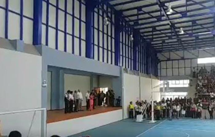 Desde Tacna, presidente Pedro Pablo Kuczynski inaugura las nuevas instalaciones del colegio Francisco Antonio de Zela