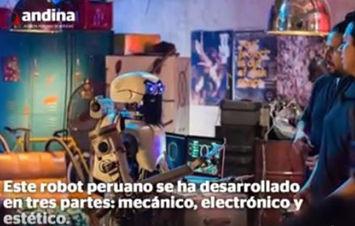 Youbot, el primer robot youtuber con aspecto humanoide