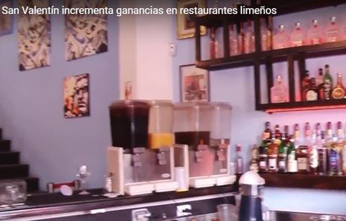 San Valentín incrementa ganancias en restaurantes limeños