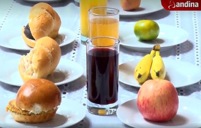 ¡Atentos, padres de familia! Los refrigerios escolares no reemplazan el desayuno, por eso, se proponen loncheras saludables