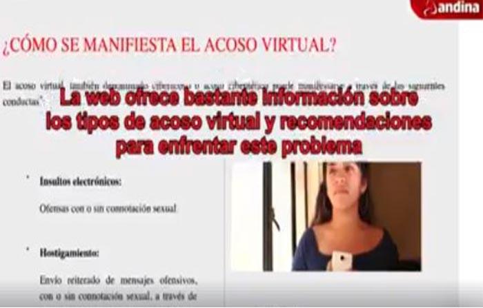 Víctimas de acoso virtual cuentan con una plataforma web para denuncias