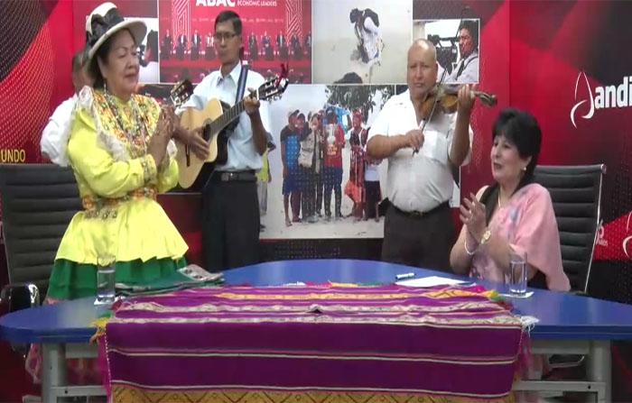La Huaracinita pionera del canto Ancashino